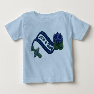 It's a Boy Pacifier Shoes Baby T-Shirt