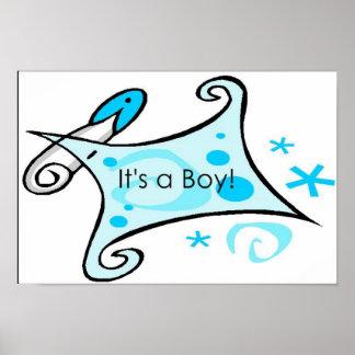 It's a Boy! Poster