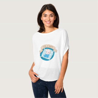 Its a boy pregnancy womens shirt