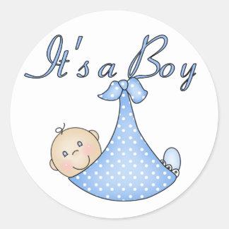 It's a Boy stickers