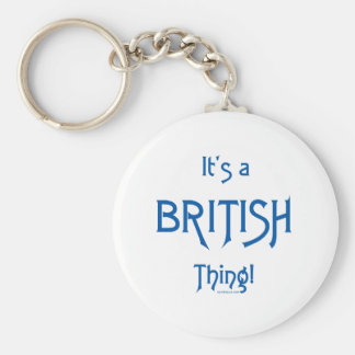 It's a British Thing! Keychains