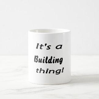 It's a building thing! mug