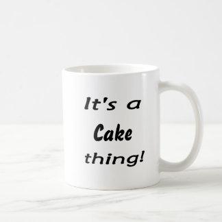 It's a cake thing! mugs