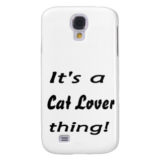 It's a cat lover thing! galaxy s4 covers
