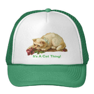 It's A Cat Thing Cap