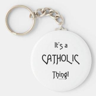 It's a Catholic Thing! Keychains