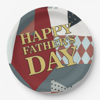 It's A Celebration Father's Day Party Paper Plates