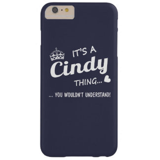 It's a Cindy thing Barely There iPhone 6 Plus Case