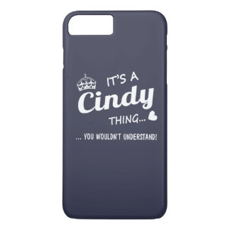 It's a Cindy thing iPhone 7 Plus Case