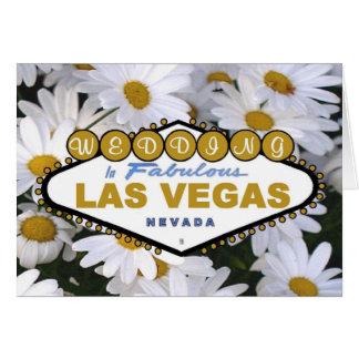 It's A Daisy Las Vegas Wedding Card