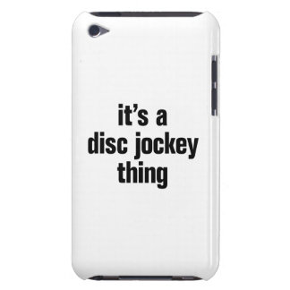 its a disc jockey thing iPod Case-Mate case
