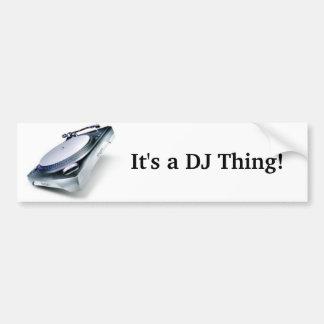 It's a DJ Thing! Bumper Sticker