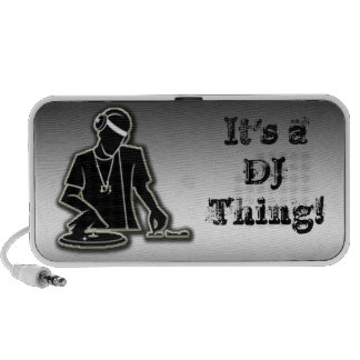 It's a DJ Thing iPhone Speaker