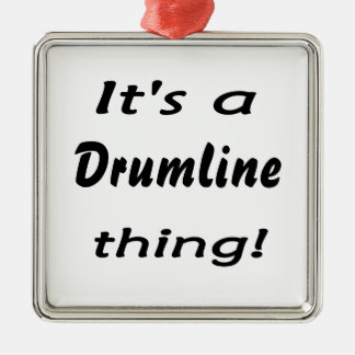 It's a drumline thing! metal ornament