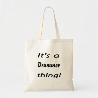 It's a drummer thing! tote bag