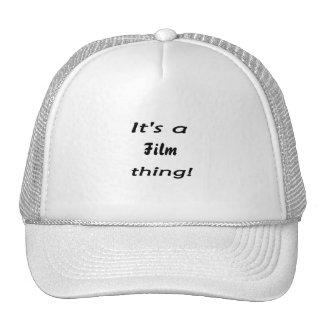 It's a film thing! trucker hats