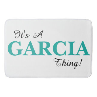It's A GARCIA Thing Bath Mats