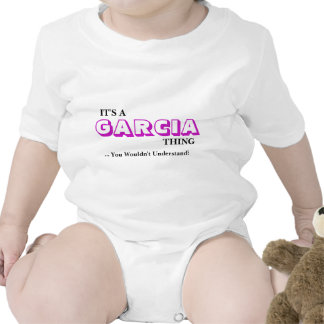 It's A GARCIA Thing ...You Wouldn't Understand! Rompers