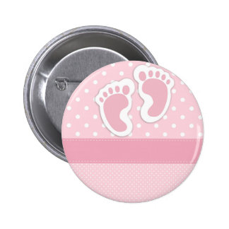 It's a girl! 6 cm round badge