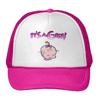 It's A Girl (Baby Face) Cap