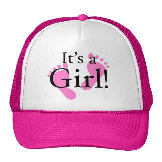 Its a Girl - Baby, Newborn, Baby Shower Cap