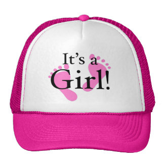 Its a Girl - Baby Newborn Baby Shower Mesh Hat