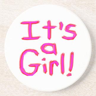 It's a Girl! Coaster