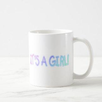 It's A Girl! Coffee Mug