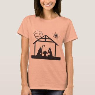 It's a Girl Ladies t-shirt