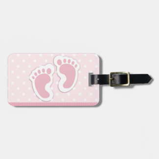 It's a girl! luggage tag