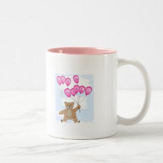 It's a girl Teddy Bear mug