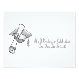 It's A Graduation Celebration And Your Invited! Card