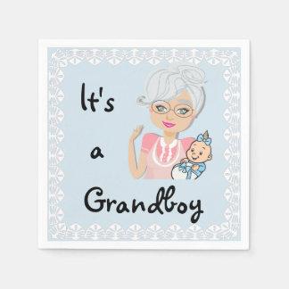 It's a Grandboy Napkins Paper Napkin