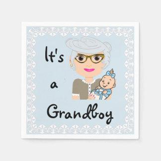 It's a Grandboy Napkins Paper Napkins