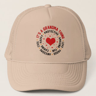 It's a Grandma Thing Trucker Hat