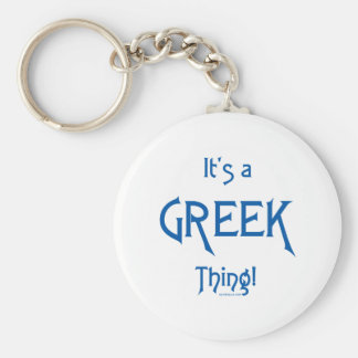 It's a Greek Thing! Keychains