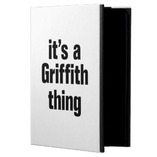 its a griffith thing iPad air case