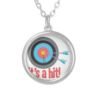 Its A Hit Silver Plated Necklace