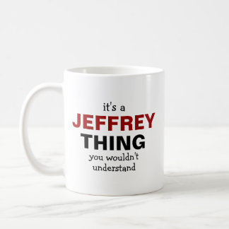 It's a Jeffrey thing Basic White Mug