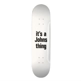 its a johns thing 21.6 cm skateboard deck