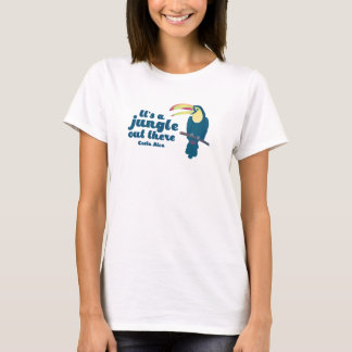 It's a Jungle Out There Costa Rica Toucan T-Shirt