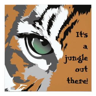 It's a Jungle Tiger Invitations