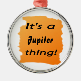 It's a jupiter thing! christmas ornaments