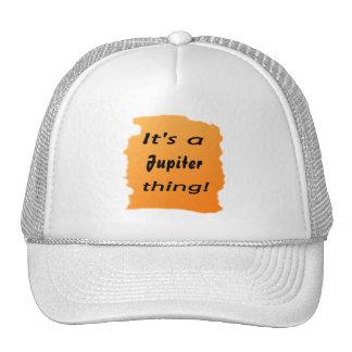 It's a jupiter thing! mesh hat