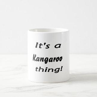 It's a kangaroo thing! mug