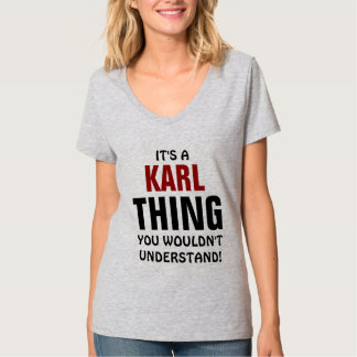 It's a Karl thing you wouldn't understand! Shirts