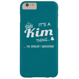 It's a Kim thing! Barely There iPhone 6 Plus Case