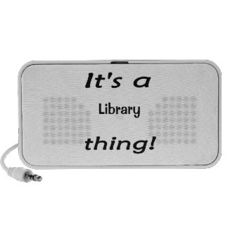 It's a library thing! mini speaker