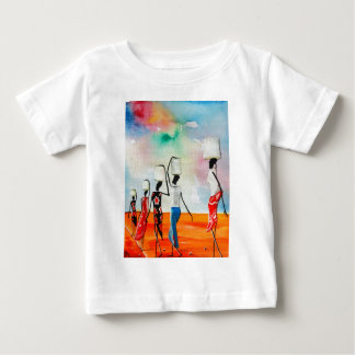 It's a Long Road To Fetch Water Baby T-Shirt
