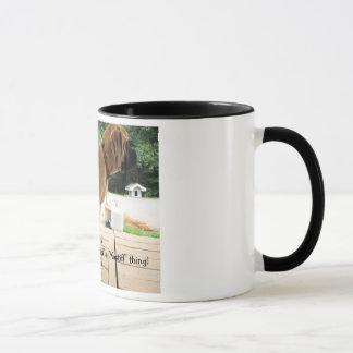 """It's a """"Mastiff"""" thing! English Mastiff dogs photo Mug"""